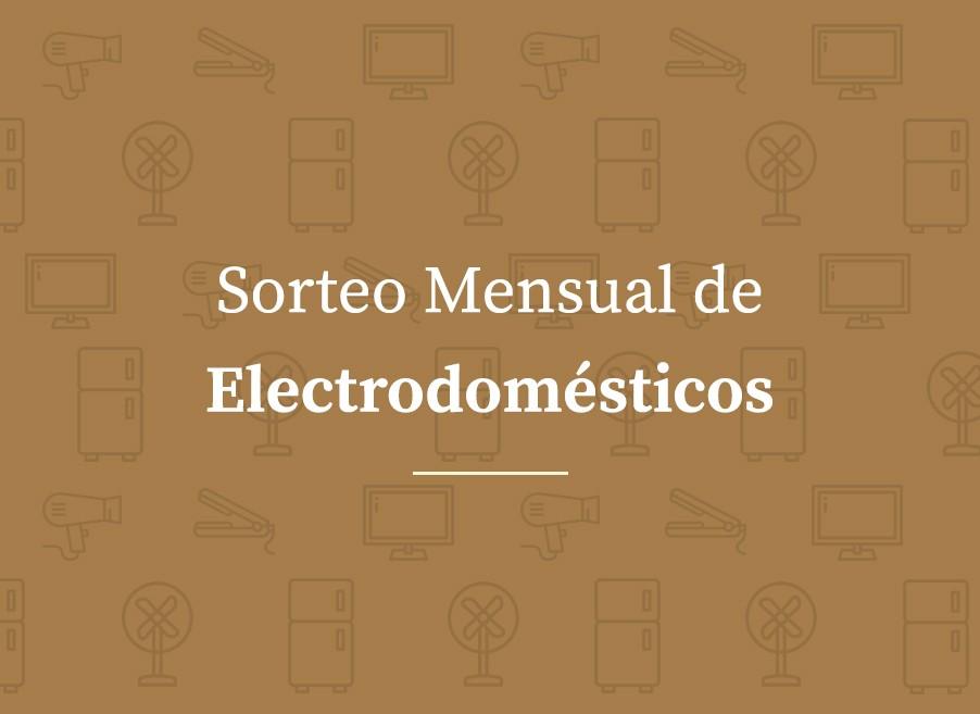 Sorteo de Electrodomésticos